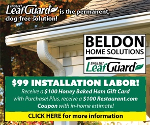 Beldon Home Solutions - Leaf Guard - LeafGuard Gutters Are Guaranteed Not To Clog