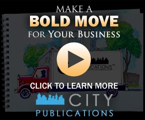 City Publications Northern Virginia West - Make a bold move for your business by clicking this banner to learn more about City Publications and the many marketing opportunities available for your business.