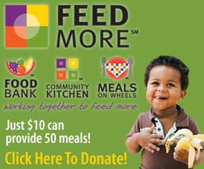 Feed More - Just $10 can provide 50 meals!