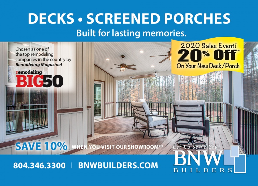 BNW Builders Decks & Screened Porches