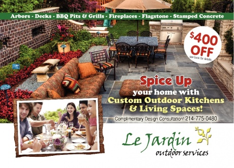Le Jardin - Outdoor Living & Kitchen Spaces