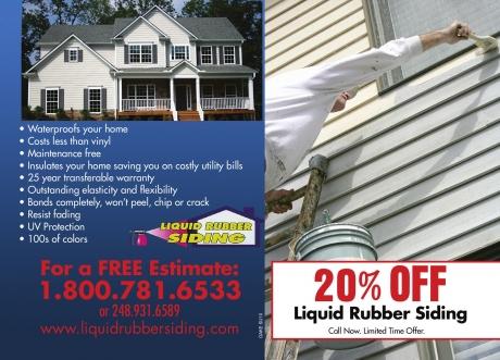 Liquid Rubber Liquid Rubber Siding