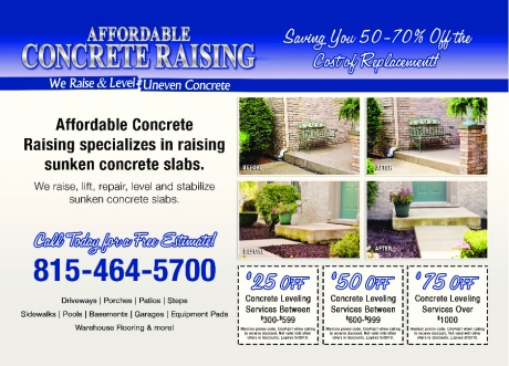 Affordable Concrete Raising