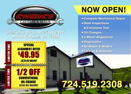 Choice Auto Sales, Car Care and Classic Auto Refinishing