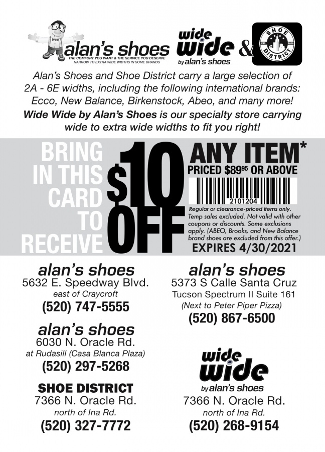 Expired Alans Shoes Coupon Codes