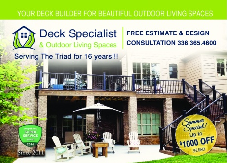 Deck Specialist & Outdoor Living Spaces