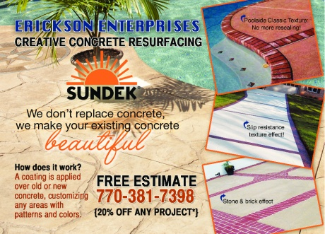 Erickson Enterprises Creative Concrete Resurfacing