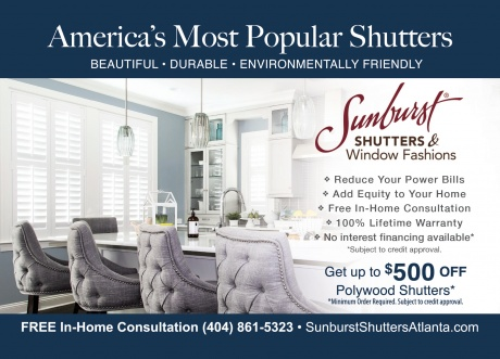 Sunburst Shutters and Window Treatments