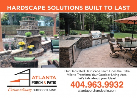 Atlanta Porch & Patio- Hardscape