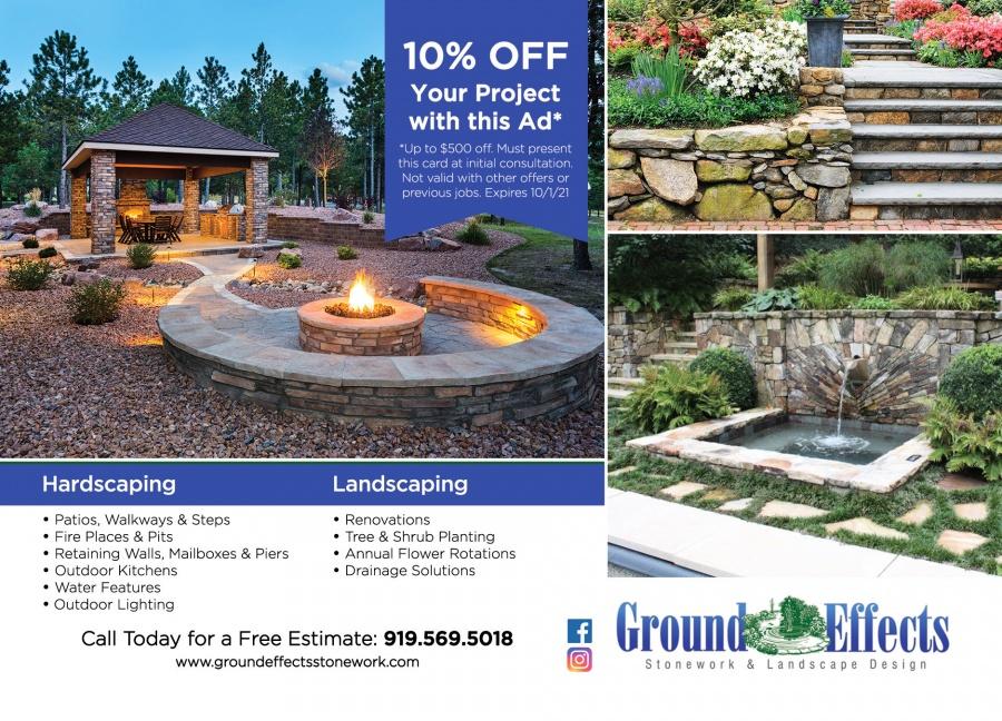 Ground Effects Stonework Landscape Design