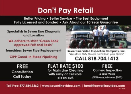 Sewer Line Video Inspection Company Inc.
