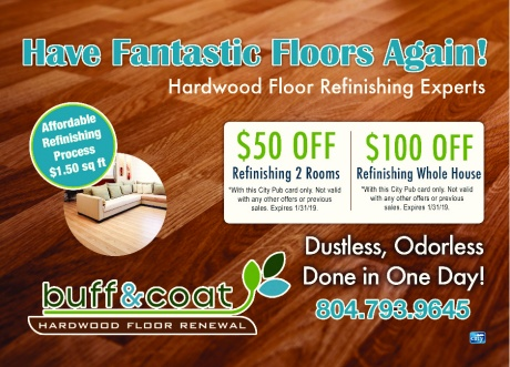 Buff & Coat - Hardwood Floor Renewal