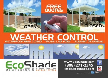 Eco Shade (Louvered Roof)