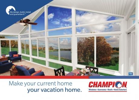 Champion sunrooms oklahoma city ok inside your home - Champion windows sunrooms home exteriors ...