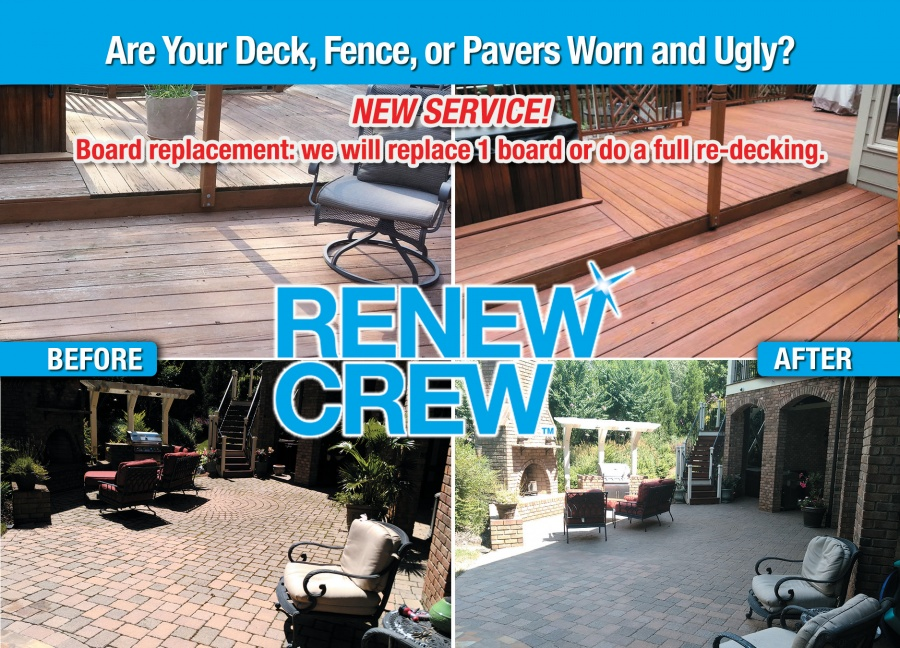 Renew Crew - Pavers & Wood Surfaces