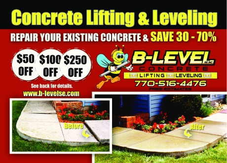 B-Level Concrete Lifting