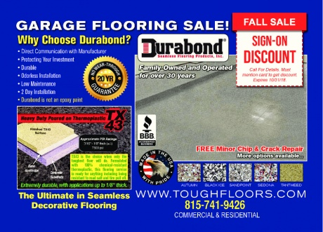 Durabond (Garage Flooring)