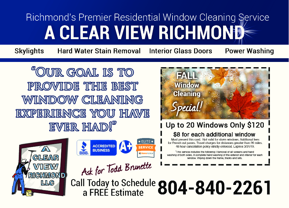 A Clear View Richmond - Window Cleaning