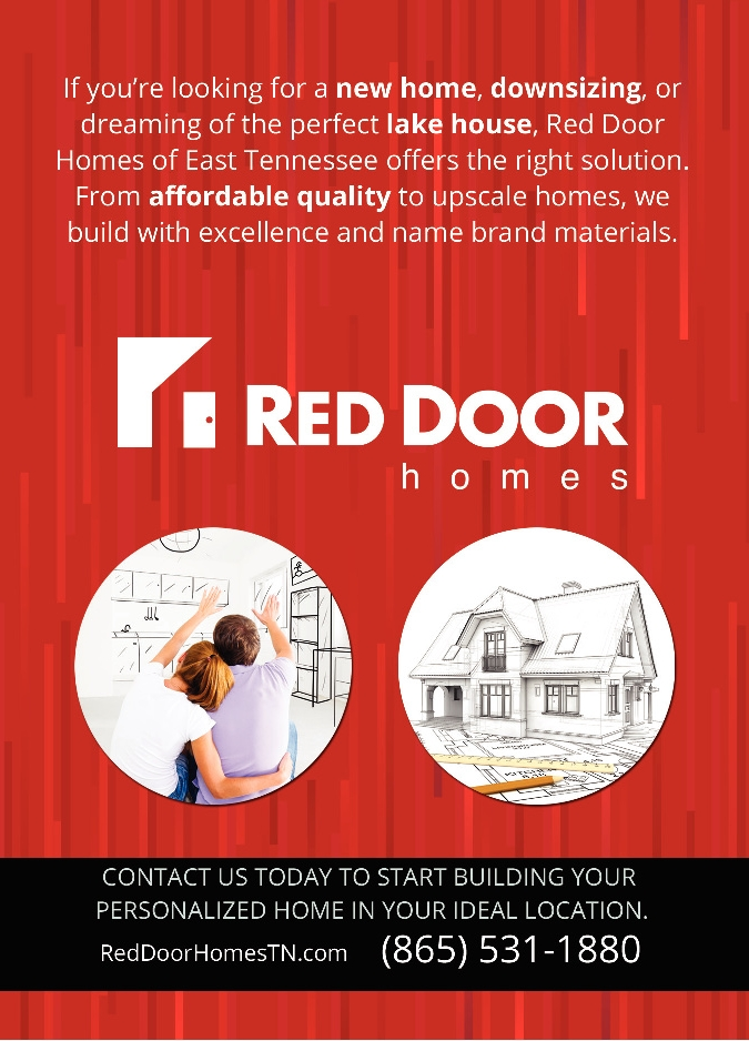 Red Door Homes Of East Tennessee Custom Built On Your Lot With The Best Prices Per Square Foot