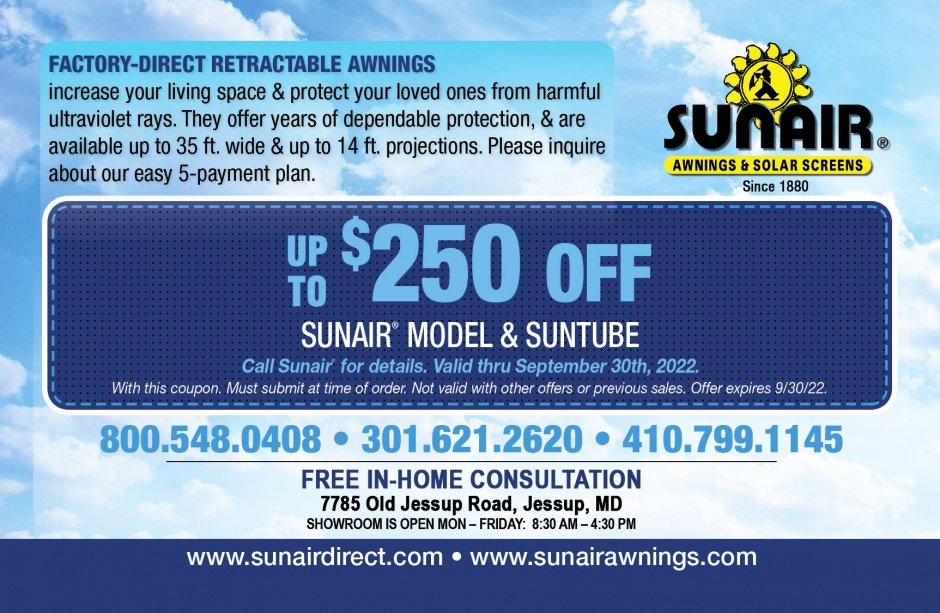 Sunair Retractable Awnings