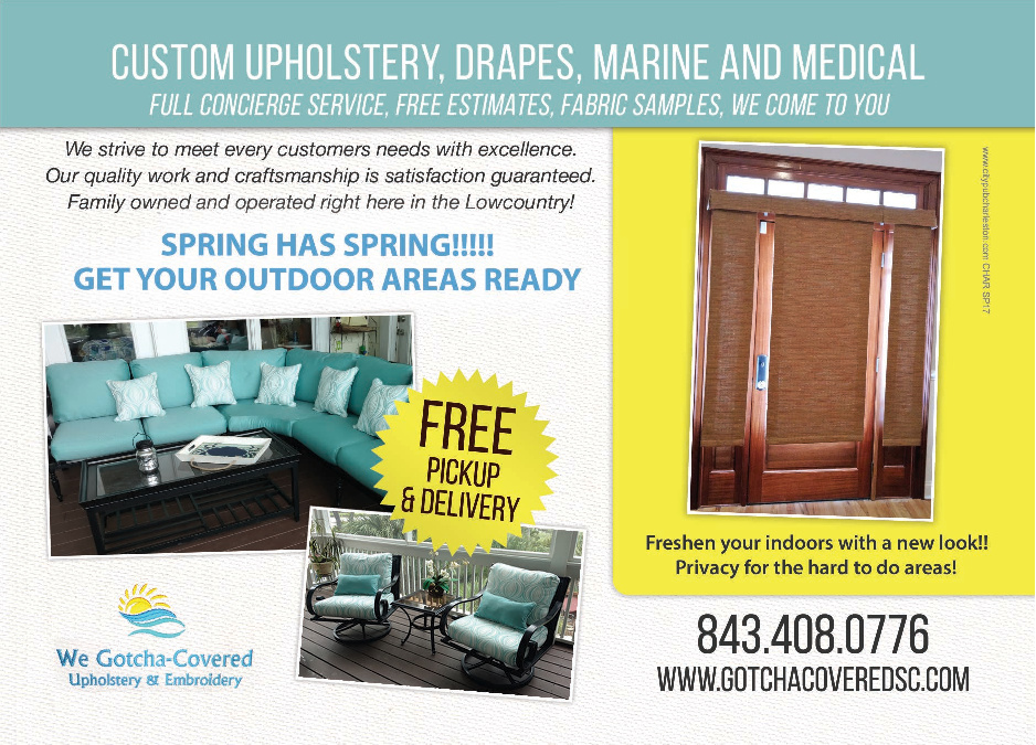We Gotcha-Covered Upholstery & Embroidery