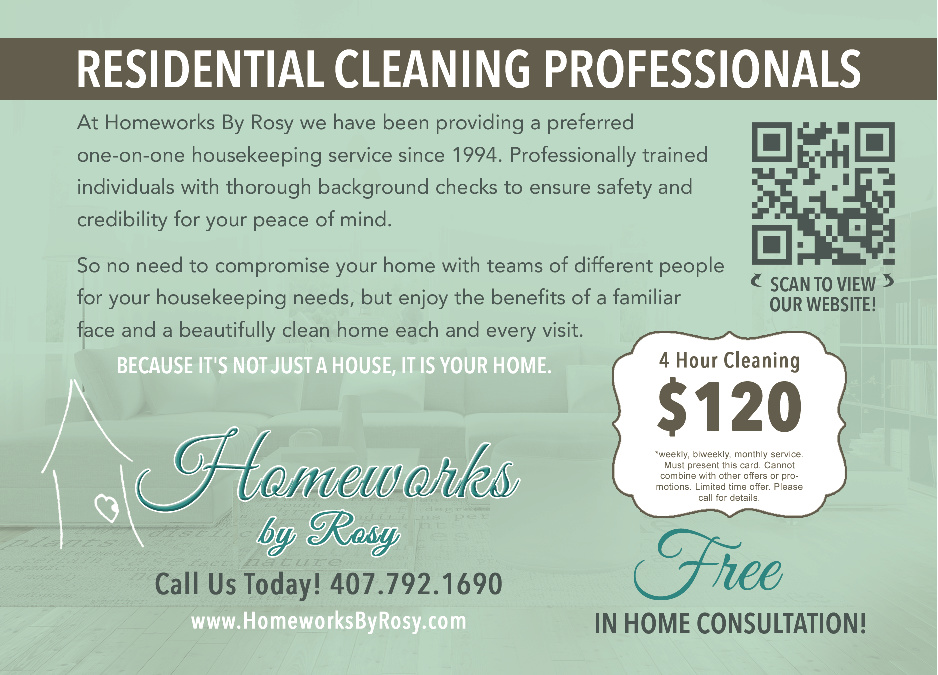 Homeworks Residential Cleaning Professionals