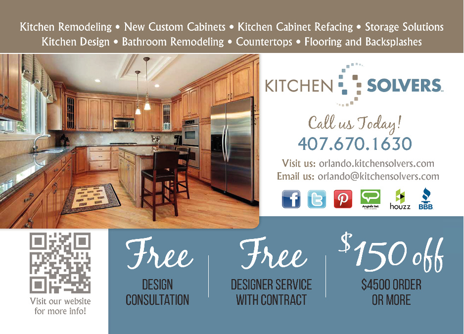 share print this offer - Kitchen Solvers