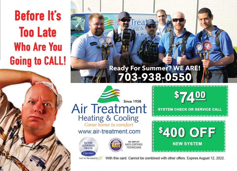 Air Treatment Heating & Cooling