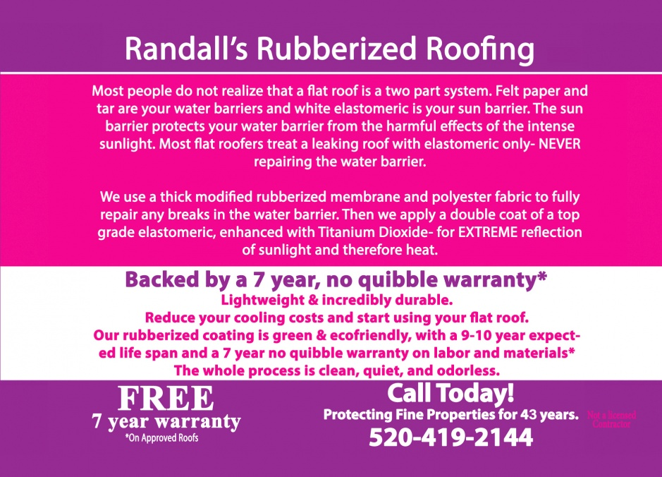 Randall's Rubberized Roofing