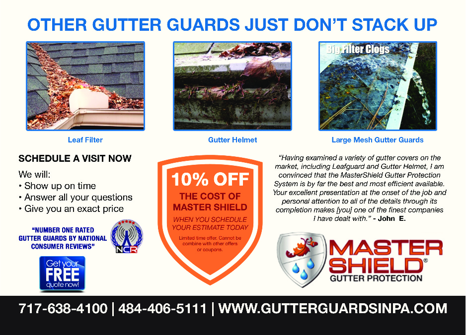 Master Shield Gutter Protection