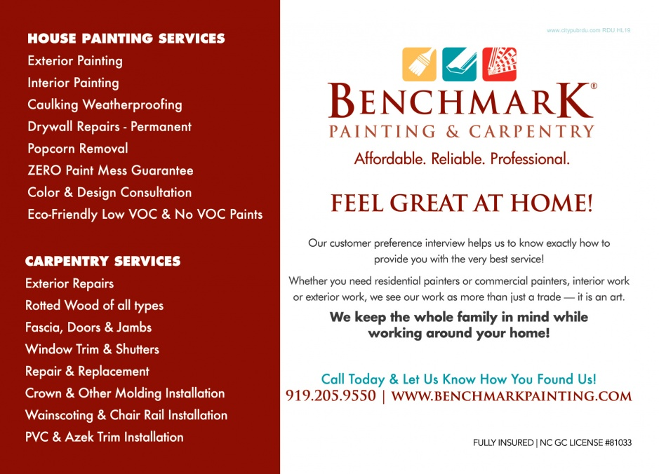 Benchmark Painting & Carpentry