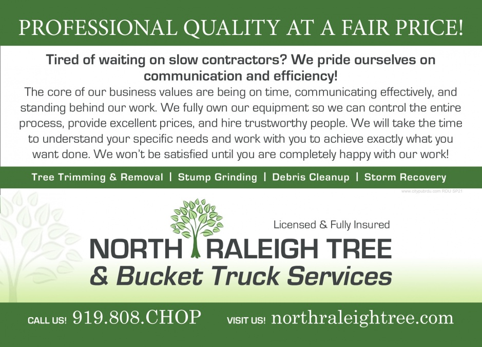North Raleigh Tree Service