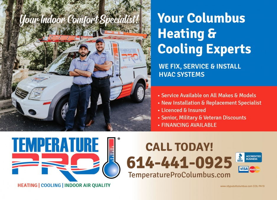 TemperaturePro Columbus