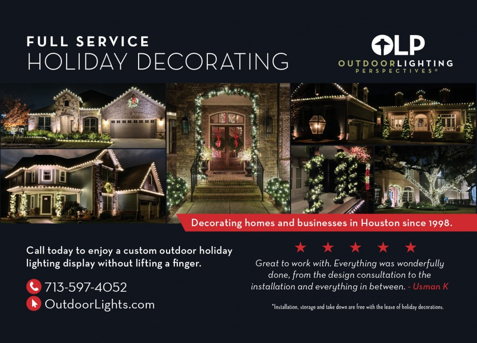 Outdoor Lighting Perspectives of West Houston and The Woodlands