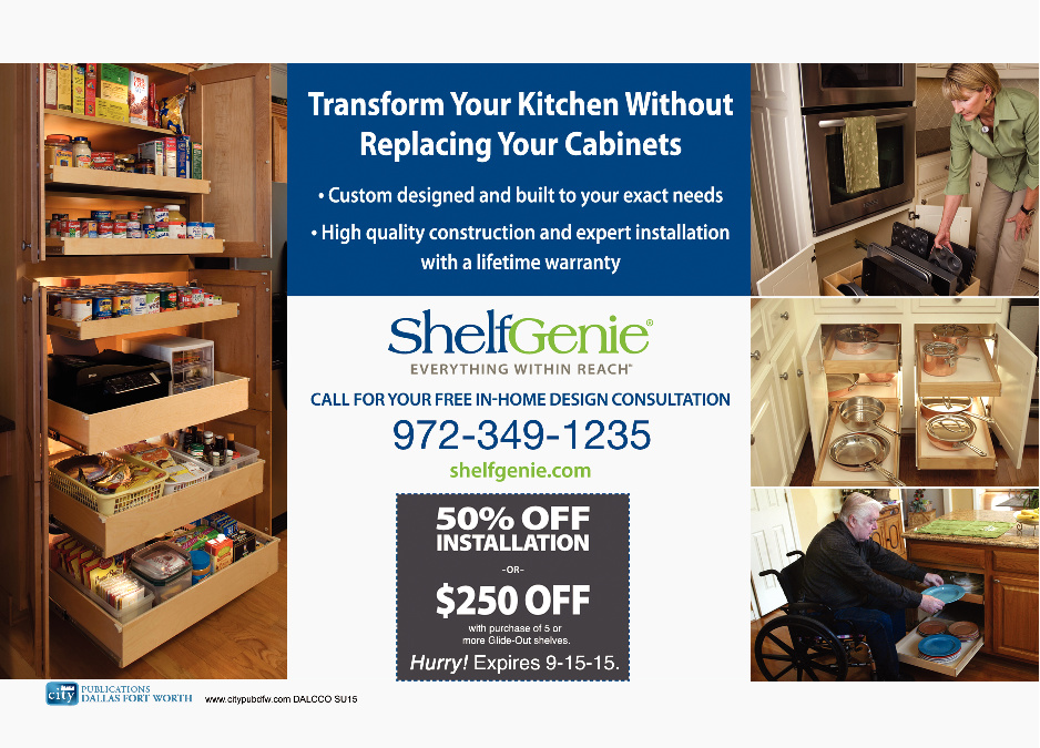 Shelf Genie (Kitchen Cabinet Organization)
