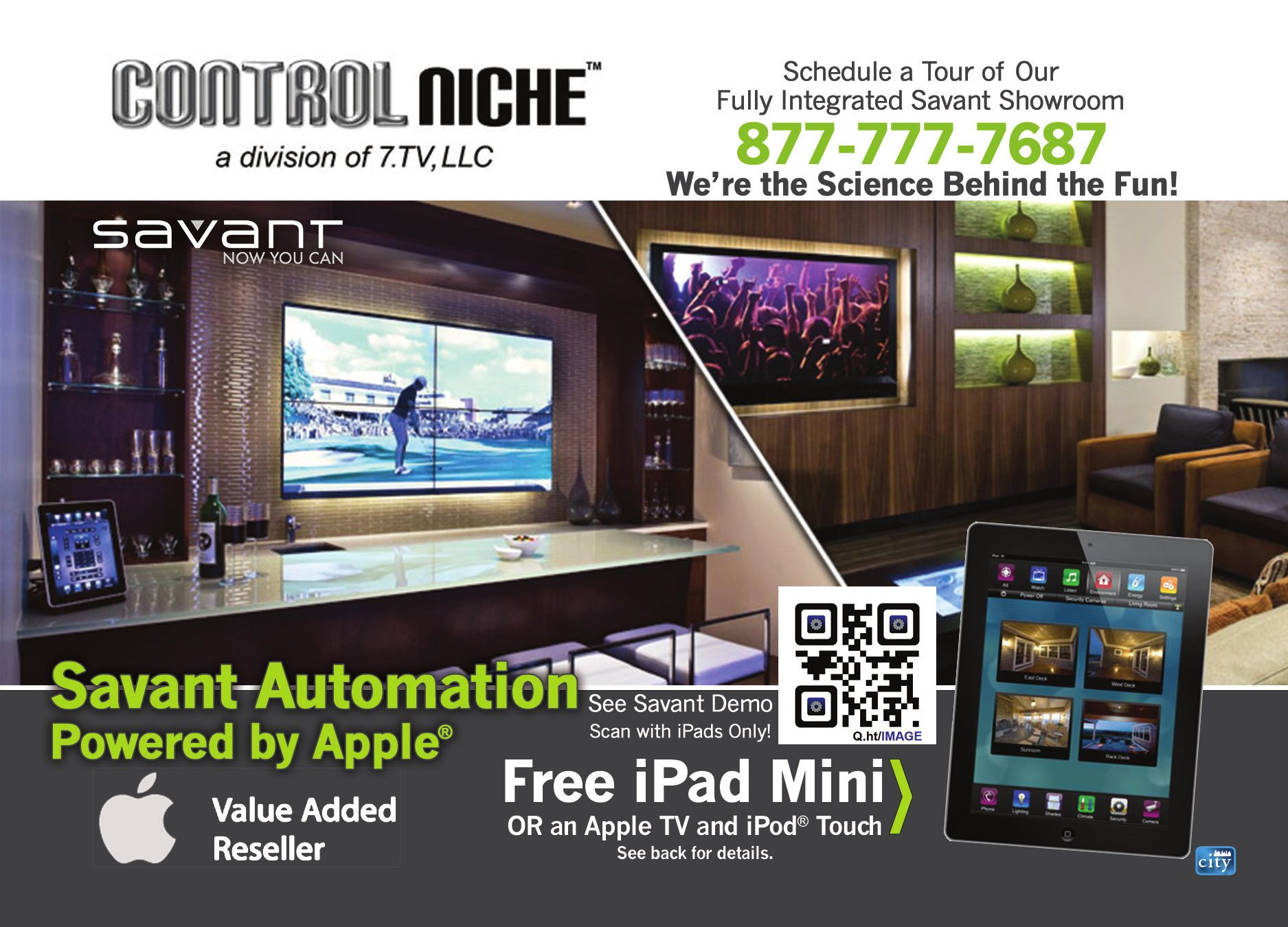 Control Niche (Home Theater and Automation)