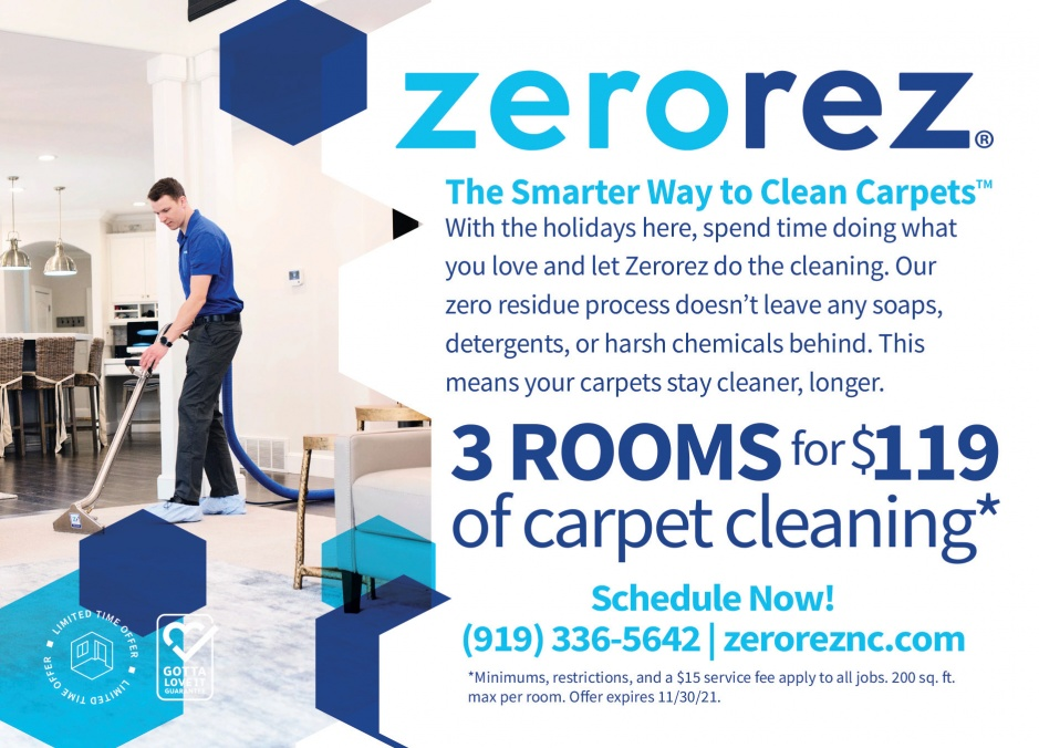 ZEROREZ - Carpet Cleaning