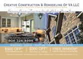 Creative Construction & Remodeling