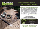 A Touch of Green - Patio Cleaning/LED Lighting