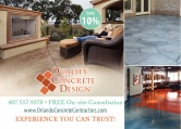 Quality Concrete Design