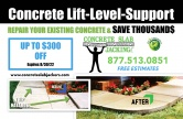 Concrete Slab Jacking, Inc.