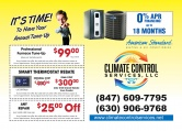Climate Control Services (Heating & AC)
