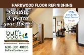 Buff & Coat Hardwood Floor Renewal