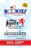 Rookies,  & The Village Squire, Alexanders Rest.