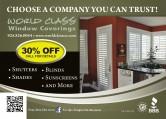 World Class Window Coverings