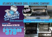 Sparkle Grill Cleaning
