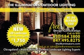 The Illuminators Outdoor Lighting
