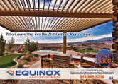 Equinox Louvered Roofs (Patio Covers)