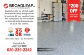 Broadleaf Residential (Garage) Flooring