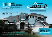 Infinity Exteriors, Roofing